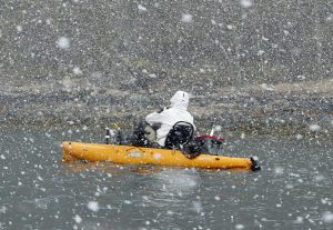 Hobie-kayak-snow-fishing