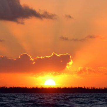 zonsopkomst boven het Volkerak