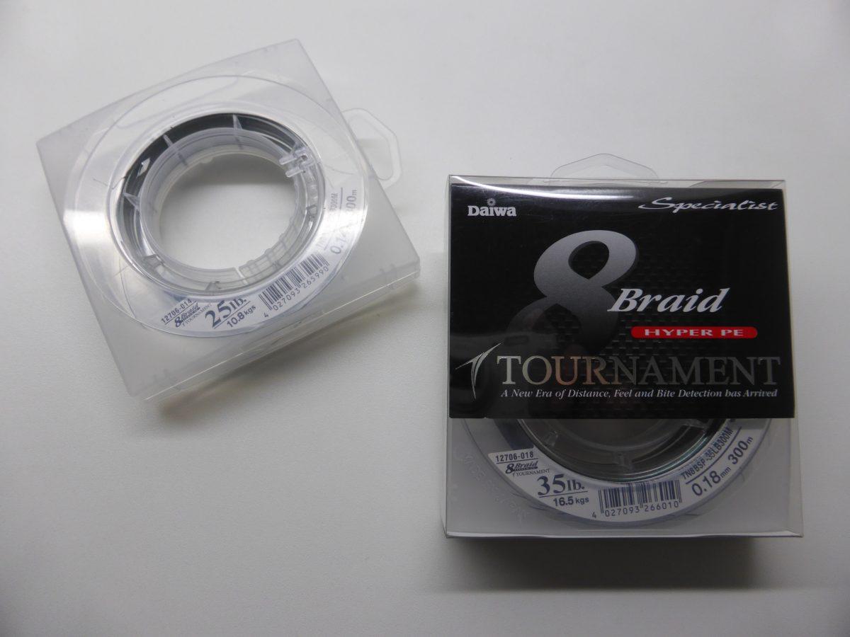 Daiwa Tournament 8 Braid Hyper PE