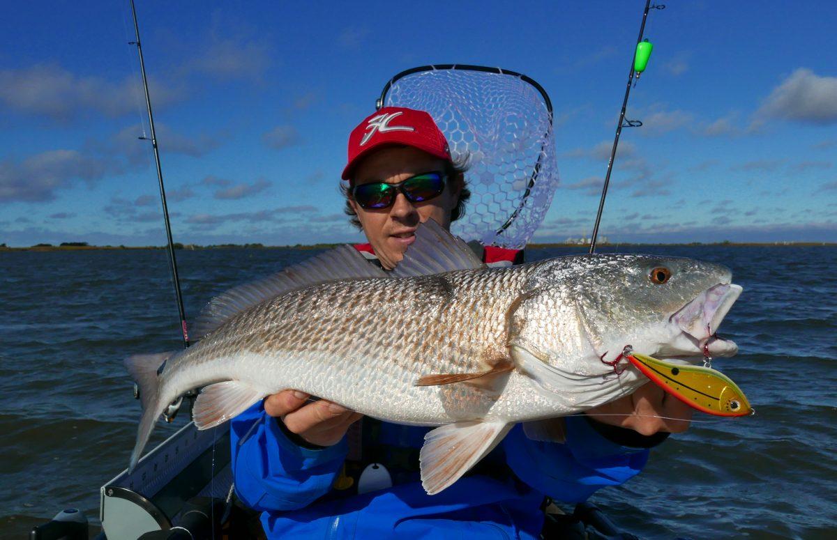 Red Fish genangen met de Westin Swim Red