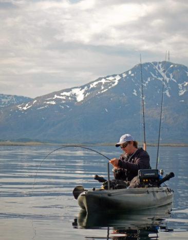 Noorwegen-kayak-vissen